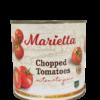 TOMATO DICED 'MARIETTA' 2.5kg - Box (6 Tins)